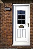 Αγγλική μπροστινή πόρτα Στοκ φωτογραφία με δικαίωμα ελεύθερης χρήσης