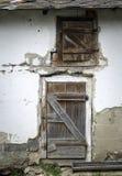 Πόρτα στο χοιροστάσιο Στοκ Φωτογραφίες