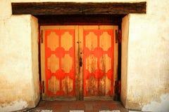 Πόρτα της αποστολής SAN Miguel Arcangel Στοκ φωτογραφία με δικαίωμα ελεύθερης χρήσης