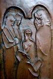 Πόρτα της εκκλησίας Annunciation, Ναζαρέτ Στοκ Φωτογραφία