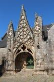 Πόρτα της Notre Dame de Roscudon σε pont-Croix Στοκ φωτογραφία με δικαίωμα ελεύθερης χρήσης
