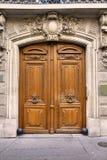 Πόρτα του Παρισιού Στοκ φωτογραφία με δικαίωμα ελεύθερης χρήσης