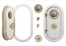 Πόρτα του σκάφους διανυσματική απεικόνιση