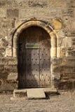 Πόρτα του Castle που προσωποποιεί στοκ φωτογραφία