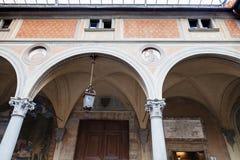 Πόρτα του della Santissima Annunziata βασιλικών Στοκ Φωτογραφία