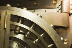 πόρτα τραπεζών παλαιά Στοκ Φωτογραφίες