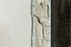 Πόρτα τσιμέντου δομών στην κατασκευή βιομηχανίας Στοκ εικόνα με δικαίωμα ελεύθερης χρήσης