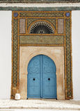 πόρτα Τυνήσιος στοκ εικόνα