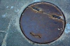 Πόρτα υπονόμων Smiley Στοκ Εικόνες