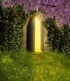 Πόρτα φαντασίας Στοκ φωτογραφία με δικαίωμα ελεύθερης χρήσης