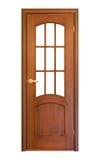 πόρτα 11 ξύλινη Στοκ Εικόνες