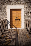 πόρτα Στοκ Φωτογραφία