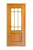 πόρτα 6 ξύλινη Στοκ Φωτογραφίες