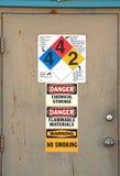 Πόρτα Chem στοκ φωτογραφίες με δικαίωμα ελεύθερης χρήσης