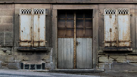 πόρτα grunge παλαιά Στοκ Εικόνες