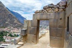Πόρτα Inca Στοκ Εικόνες