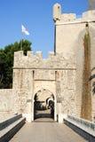 Πόρτα Ploce στην ακρόπολη Dubrovnik Στοκ Εικόνα