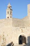 Πόρτα Ploce στην ακρόπολη Dubrovnik Στοκ φωτογραφία με δικαίωμα ελεύθερης χρήσης
