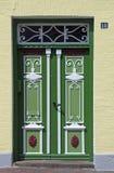 πόρτα schleswig παραδοσιακή στοκ φωτογραφία