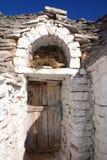 Πόρτα Trullo Στοκ εικόνα με δικαίωμα ελεύθερης χρήσης