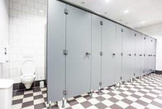 Πόρτες από τις τουαλέτες στοκ εικόνα με δικαίωμα ελεύθερης χρήσης
