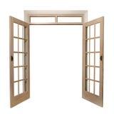 πόρτες γαλλικά Στοκ φωτογραφίες με δικαίωμα ελεύθερης χρήσης