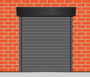 Πόρτες γκαράζ απεικόνιση αποθεμάτων