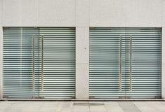 Πόρτες γυαλιού στοκ φωτογραφία