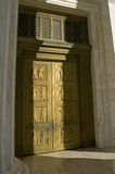 πόρτες δικαστηρίων ανώτατ&epsil Στοκ Φωτογραφία