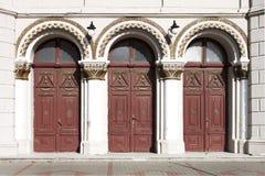Πόρτες εισόδων Στοκ Εικόνες