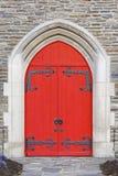 πόρτες εκκλησιών Στοκ εικόνες με δικαίωμα ελεύθερης χρήσης