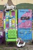 Πόρτες εδρών Ν Στοκ Εικόνες