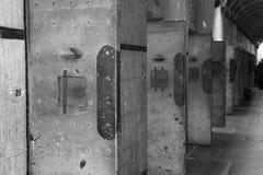 Πόρτες κελί φυλακής Στοκ Εικόνες