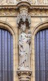 Πόρτες κυριών είσοδος καθεδρικών ναών Antwerpen Στοκ Εικόνες