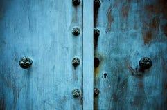 Πόρτες μετάλλων Στοκ Εικόνες