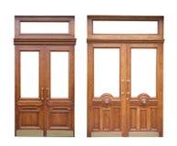 πόρτες ξύλινες Στοκ φωτογραφία με δικαίωμα ελεύθερης χρήσης