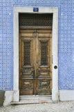 πόρτες Πορτογαλία οικο&d Στοκ φωτογραφίες με δικαίωμα ελεύθερης χρήσης