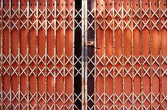 πόρτες πορτών που διπλώνο&upsil Στοκ Φωτογραφία