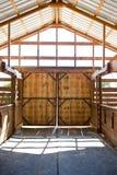 Πόρτες σιταποθηκών στοκ εικόνα με δικαίωμα ελεύθερης χρήσης