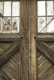 Πόρτες σιταποθηκών Στοκ φωτογραφία με δικαίωμα ελεύθερης χρήσης