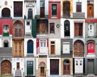 πόρτες συλλογής διάφορες Στοκ Εικόνες