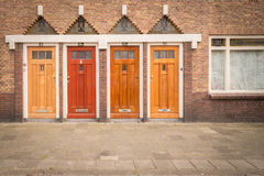πόρτες τέσσερα Στοκ εικόνα με δικαίωμα ελεύθερης χρήσης