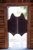 Πόρτες ταλάντευσης Στοκ Εικόνα