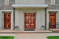 πόρτες τρία Στοκ Φωτογραφία