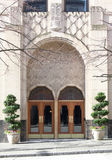 πόρτες deco τέχνης που τίθενται Στοκ Εικόνα