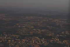 Πόρτο, άποψη ουρανού Στοκ Εικόνες