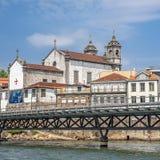 Πόρτο Πορτογαλία Εκκλησία της αδελφοσύνης των ιερών ψυχών και Στοκ φωτογραφίες με δικαίωμα ελεύθερης χρήσης
