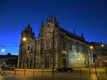 Πόρτο τη νύχτα, Πορτογαλία Στοκ φωτογραφία με δικαίωμα ελεύθερης χρήσης