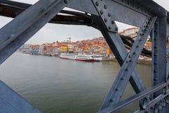 Πόρτο Φορέστε τη γέφυρα του Luis Στοκ Φωτογραφίες