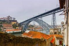 Πόρτο Φορέστε τη γέφυρα του Luis Στοκ φωτογραφία με δικαίωμα ελεύθερης χρήσης